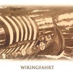 Wikingfahrt - Postkarte