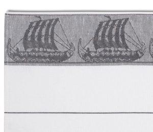 Geschirrhandtuch Wikingerboot