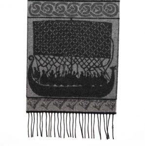 Schal mit Wikingermotiven